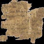 Papyrus fradment